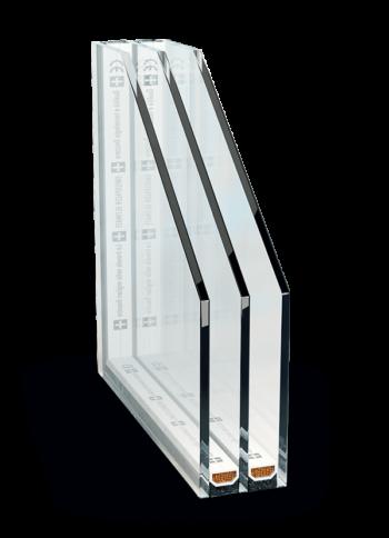 Tepelnoizolačné 3 sklo Ug = 0,5+Swisspacer